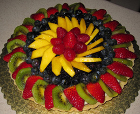 Fruit Flan Cake Decoration : Monthly Specials? - CakeCentral.com